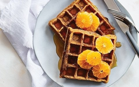 Gluten-free crispy waffles recipe