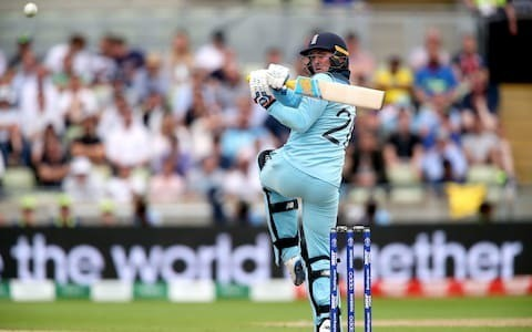Jason Roy aiming to end with a bang after setting the tone for England's World Cup fireworks from day one