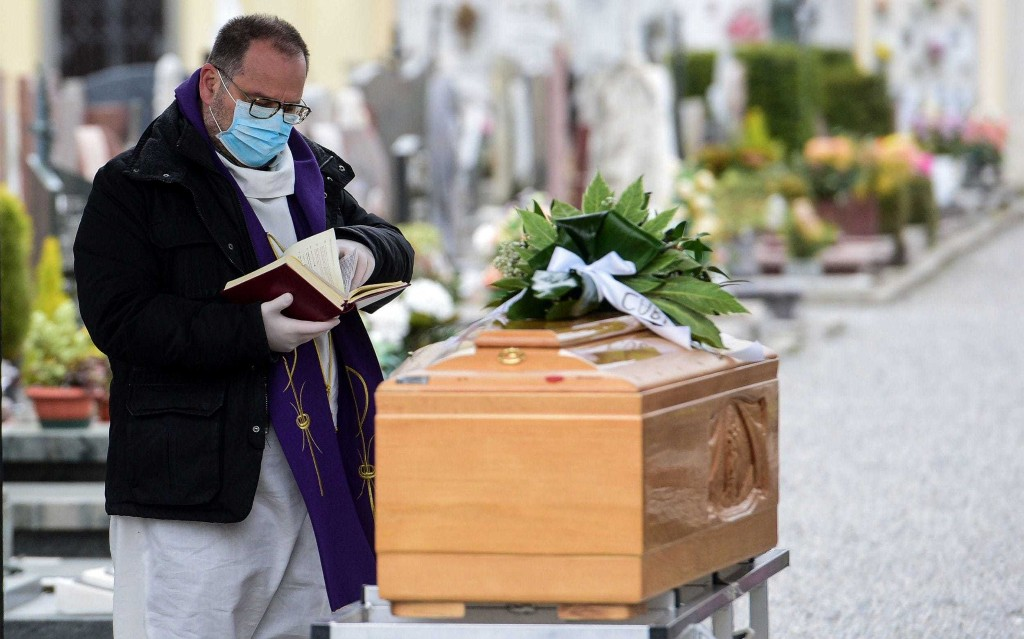 Italy's priests pay the ultimate price to comfort dying coronavirus victims