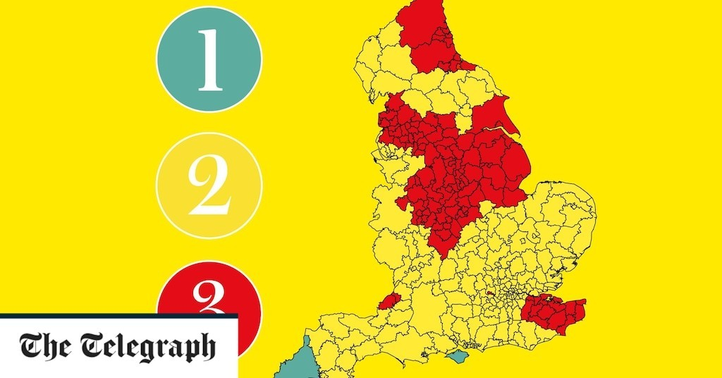 Which tier am I in? Use our postcode checker for the latest Covid rules