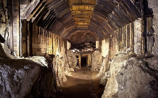 On the hunt for the Nazi gold train: Inside the Polish tunnels that may hold the bullion