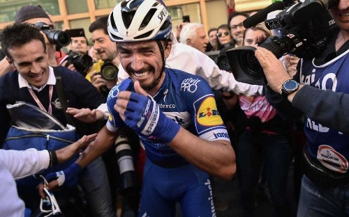 Milan-Sanremo 2019 – full results and standings: Deceuninck-Quick Step's Julian Alaphilippe sprints to victory