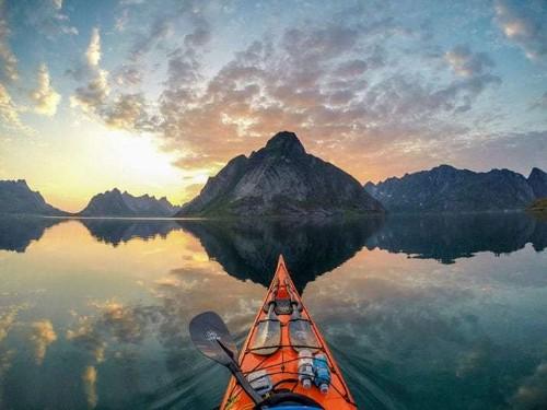 Norway's fjords by kayak: Stunning Scandinavian landscape photographs