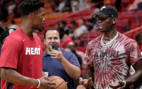 Ole Gunnar Solskjaer plays down concerns over injured Paul Pogba playing basketball with Miami Heat