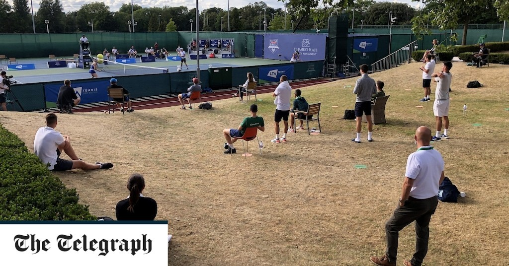 Everyone for tennis: Britons flock to courts as lockdown restrictions ease