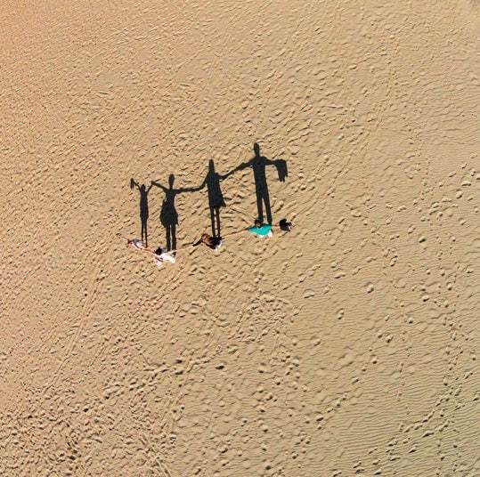 Standing in the shadows: Drone photography by Karolis Janulis