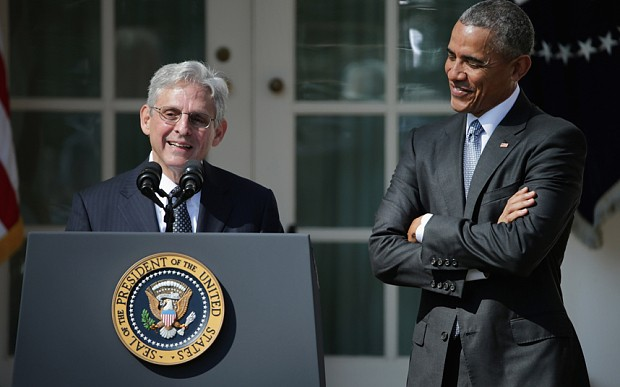 Barack Obama makes nomination for Supreme Court, setting stage for battle with Republicans