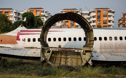 Where planes go to die: extraordinary aircraft graveyards
