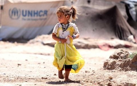 More than 70 million people forced to flee their homes because of war and persecution
