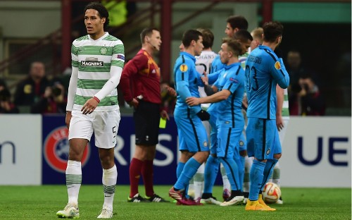 Celtic set for heavy fine by Uefa for Europe League flare-up