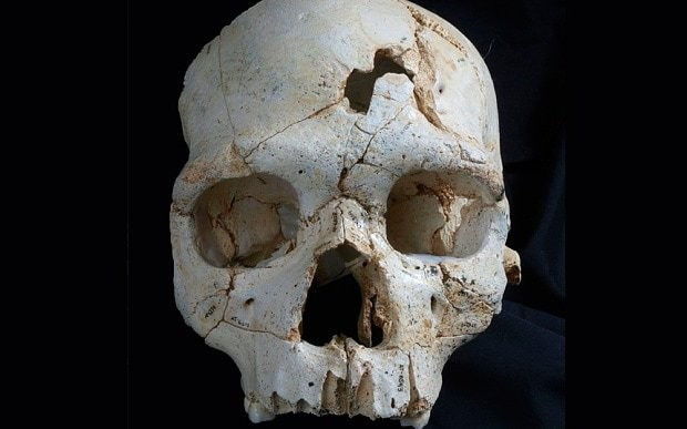 Was this the world's first murder victim?