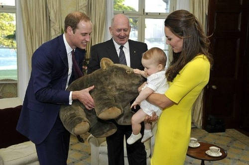 Prince George's most memorable gifts, in pictures - Telegraph