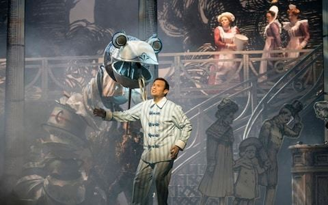 The Magic Flute, Glyndebourne, review: a meaningless, tasteless, pointless, gimmicky mish-mash