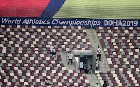 Poor Doha World Athletics Championships attendances a 'disaster' for Qatar's chances of hosting Olympics