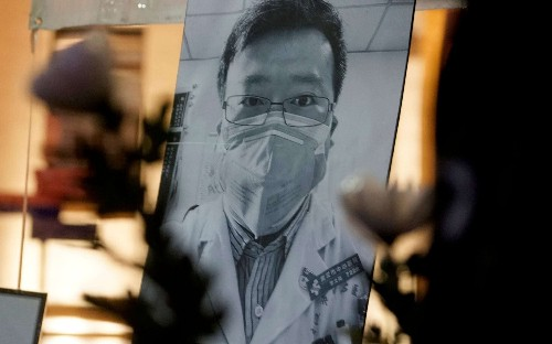 Rare revolt in China in name of martyred coronavirus doctor