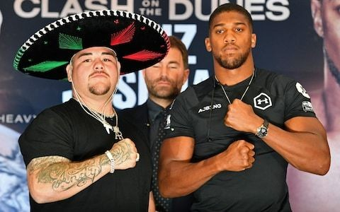 Anthony Joshua comes out fighting after claims that Andy Ruiz has exposed him as mentally weak