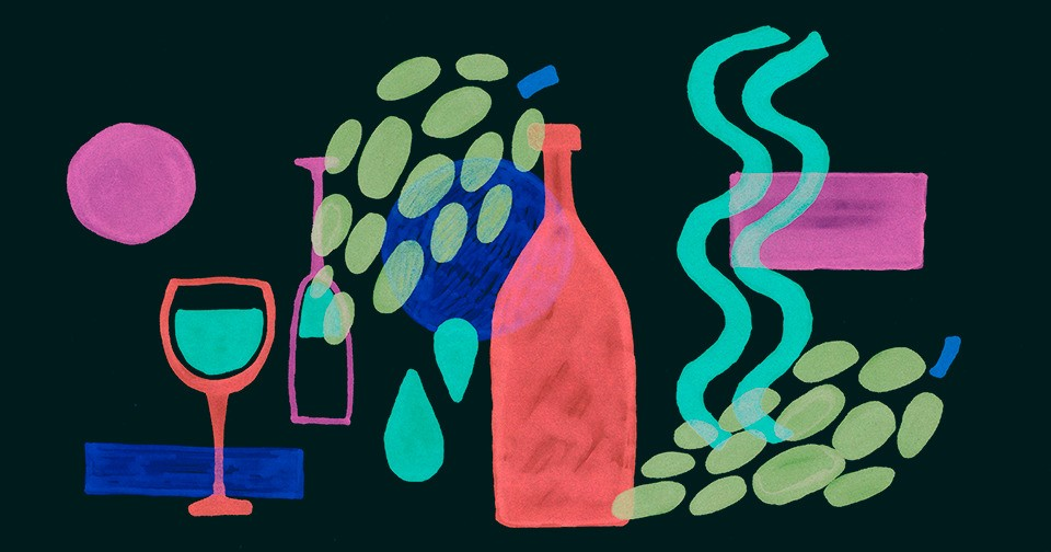 Десять бутылок вина до 500 рублей