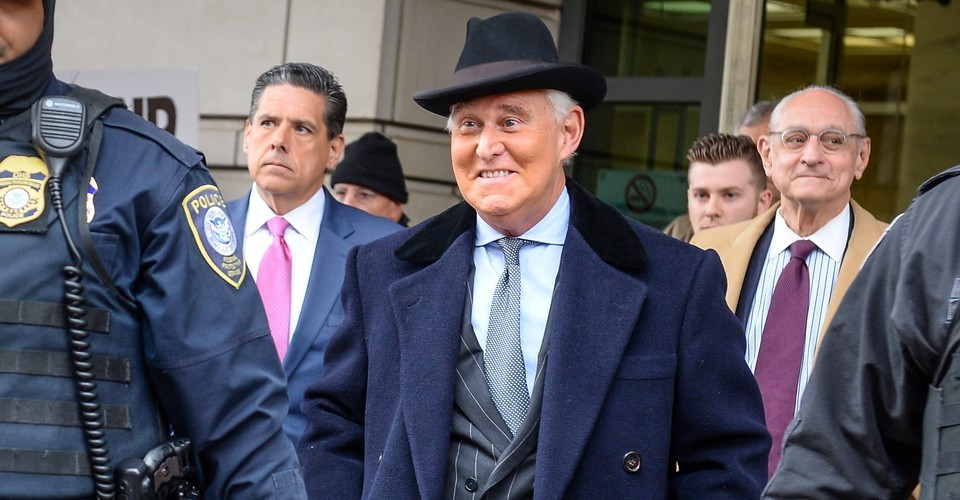 Stone Walks Free in One of the Greatest Scandals in American History