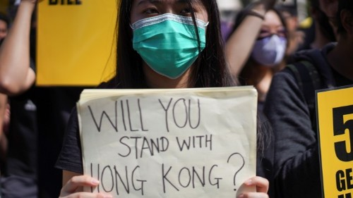 Hong Kong Will Define Trump's Foreign Policy