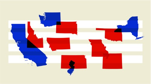 Red and Blue America Aren't Experiencing the Same Pandemic