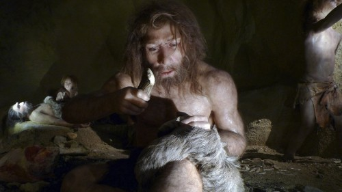 Were Neanderthals Right-Handed?