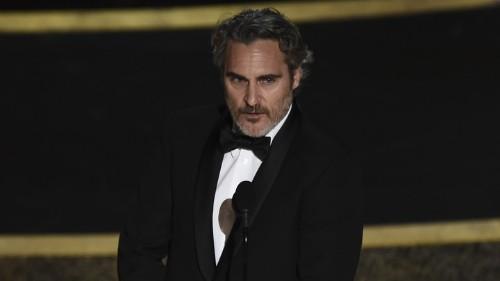 How Joaquin Phoenix Disrupted Awards Season