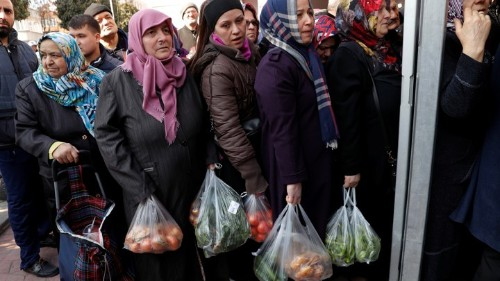 Grocery Stores Are at the Front Line of Turkey's Latest Political Battle