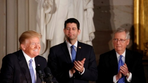 The GOP's Tax-Cut Narrative Is Already Unraveling
