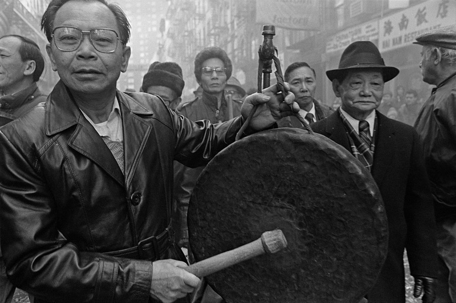 New York's Chinatown in the Early 1980s