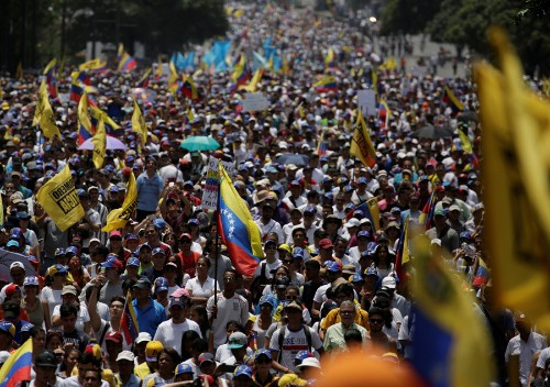 In Venezuela, the 'Mother of all Marches'