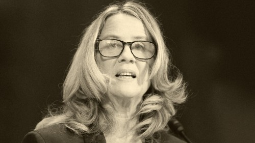 Once Christine Blasey Ford's Humanity Was on Display, It Was All Over