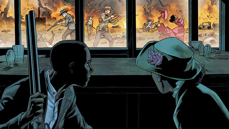 The Massacre of Black Wall StreetWriting: Natalie Chang Illustration: Clayton Henry / Colorist: Marcelo Maiolo