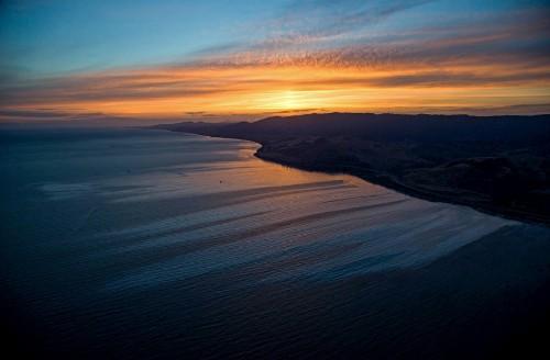 An Oil Spill Fouls the California Coastline