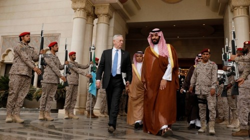 Washington Sends the Saudis a Long-Overdue Bill