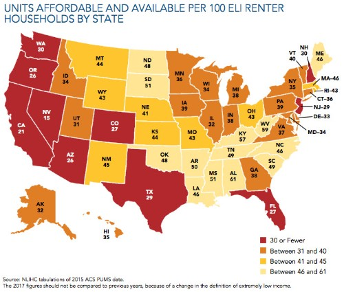 America's Affordable Housing Shortage, Mapped