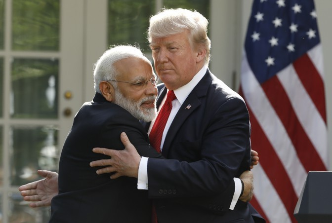 The Atlantic Daily: Trump at the Modi-eo