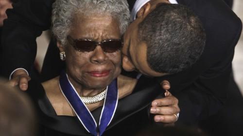Maya Angelou's Universal Struggle