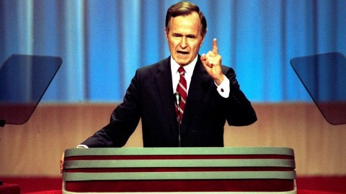 Why George H. W. Bush Struggled to Connect With America