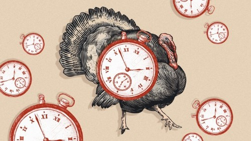 The Correct Time to Eat Thanksgiving Dinner
