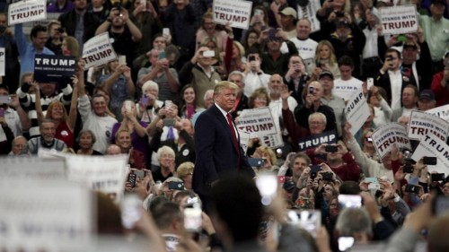 The Ecstasy of Donald Trump