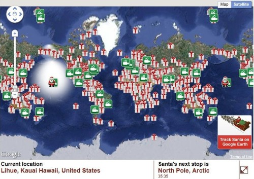 Updated: NORAD Tracks Santa's Path on Christmas Eve Because of a Typo