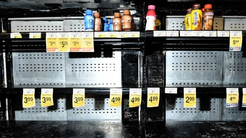 How Panic-Buying Revealed the Problem With the Modern World