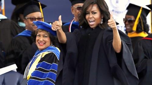 Michelle Obama in the Fourth Quarter