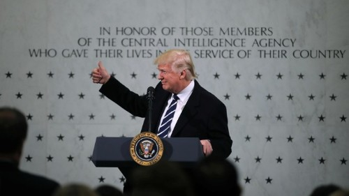 Why the President Is Feuding With the Media and the Intelligence Community