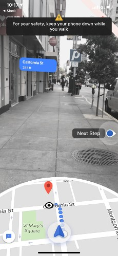 MapLab: Why Google Hopes You'll Walk
