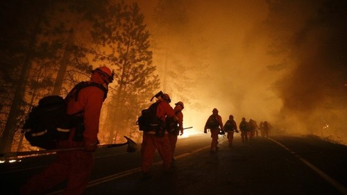 California Is Running Out of Inmates to Fight Its Fires