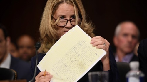 Christine Blasey Ford Is Her Own Expert Witness