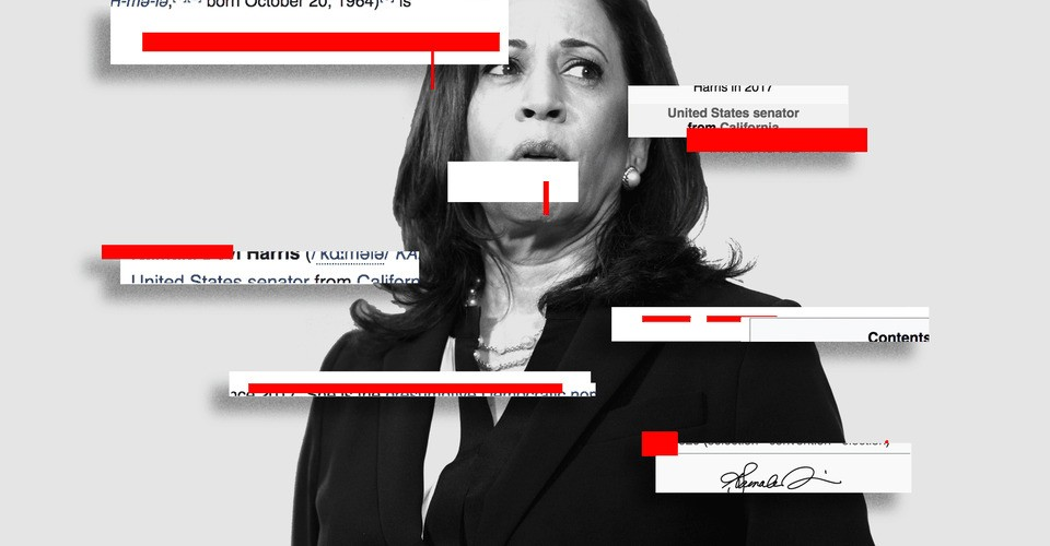 The Wikipedia War Over Kamala Harris's Race