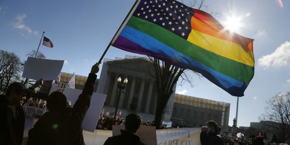 At the Supreme Court, Uneasy Justices Grapple With the Meaning of Marriage