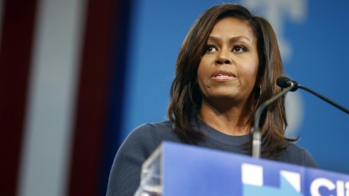 Michelle Obama: 'Going High' Means Remaining Outraged